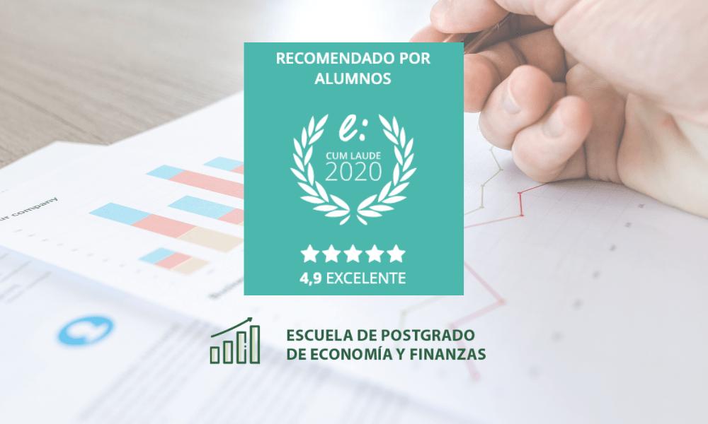 Opiniones Escuela de Postgrado de Economía y Finanzas premiadas con el Sello Cum Laude 2020